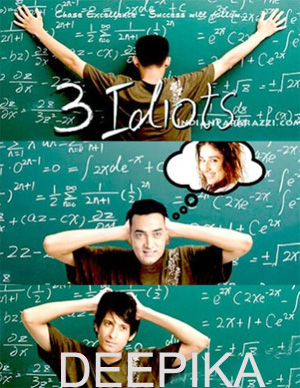 3 Idiots - A Review by Deepika